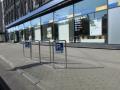 Rīgas satiksme uzstādījusi velostatīvus Rīgas centra ielu krustojumos